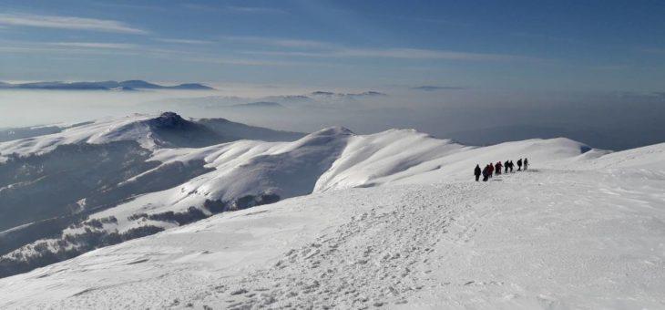 Zimski uspon na Midžor (2169mnv)